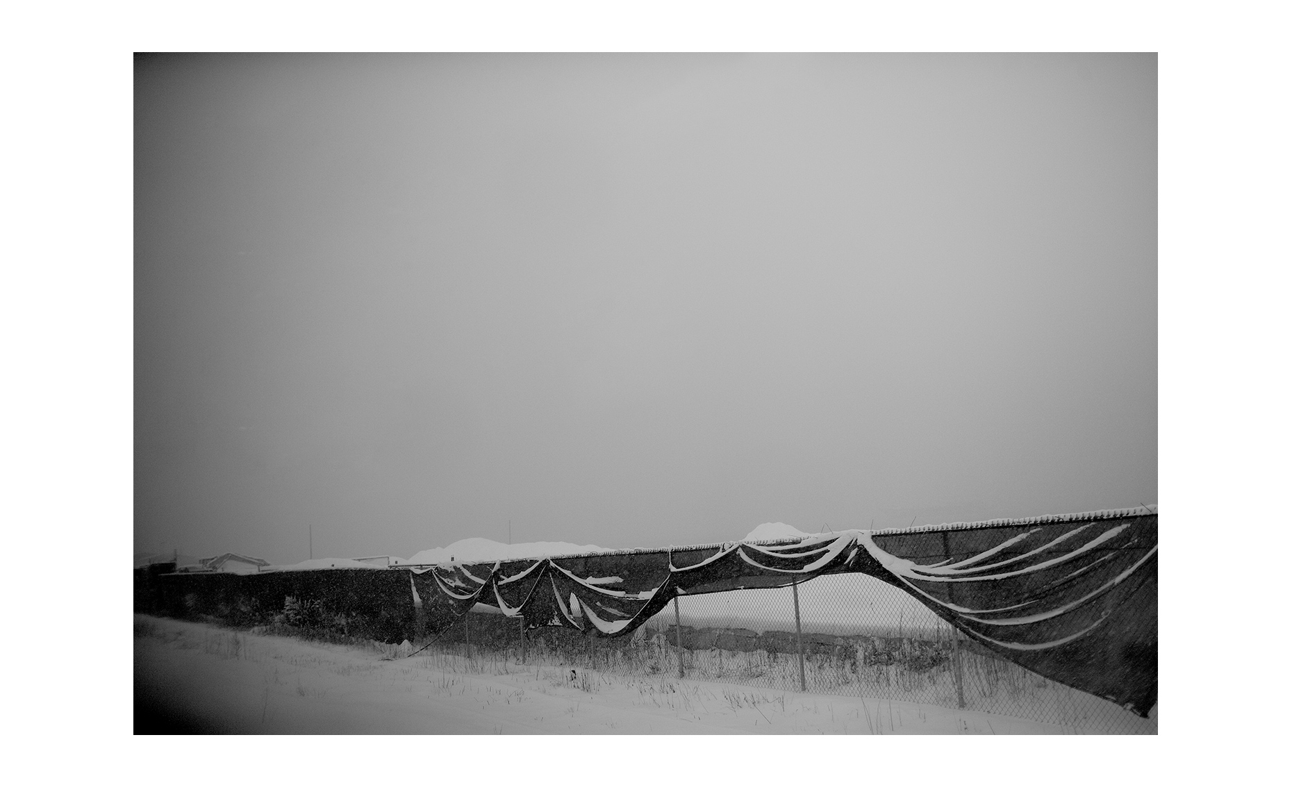FenceSnow
